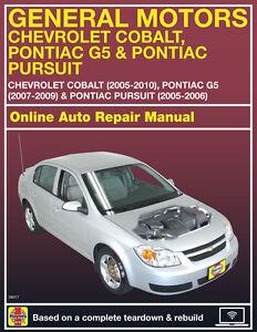 2006 chevrolet cobalt haynes online repair manual select access ebay rh ebay com chevrolet cobalt repair manual 2005 cobalt repair manual