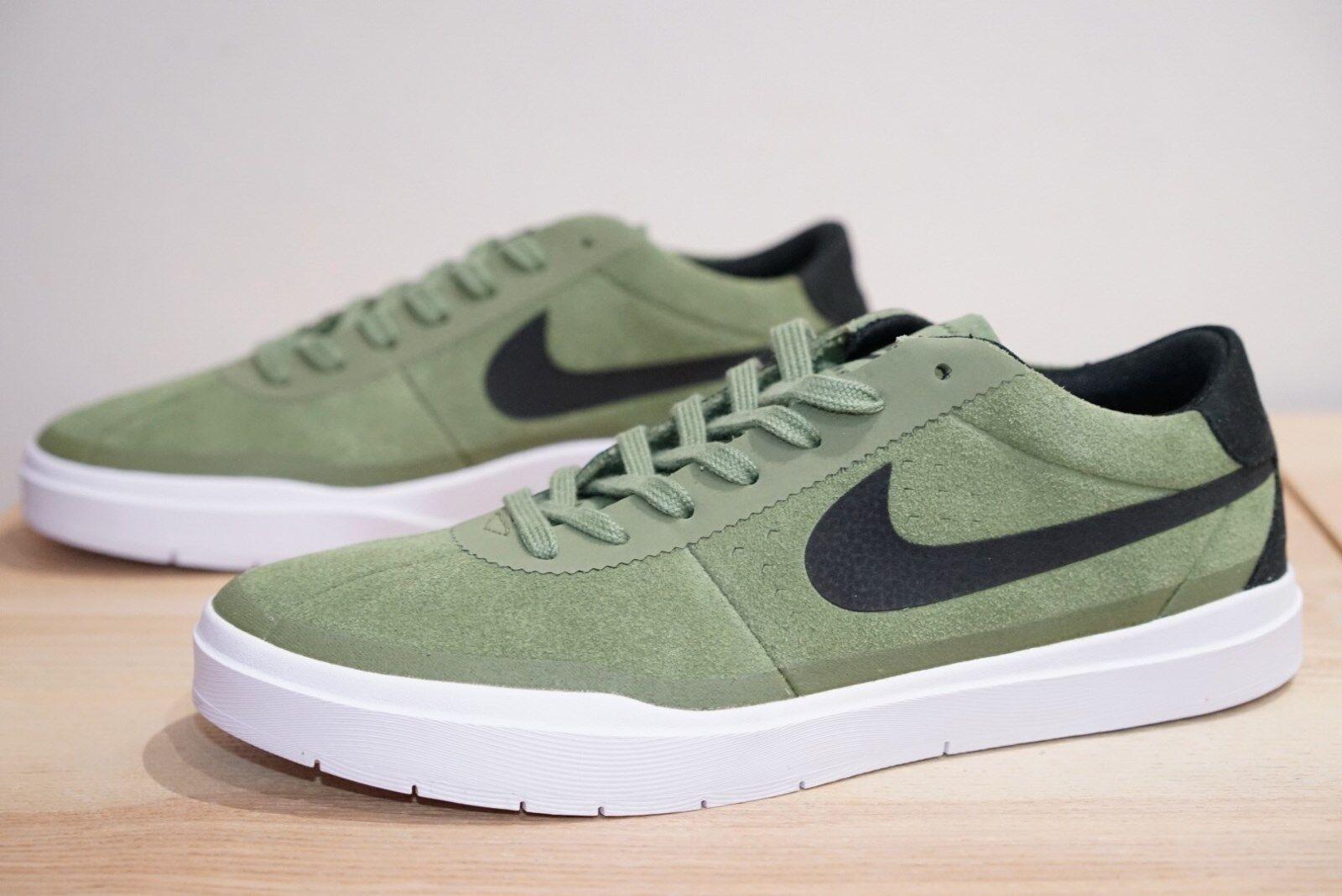 Nike SB Bruin Hyperfeel Da Uomo Scarpe Da Ginnastica Da Skate Board Scarpe Misura PALM VERDE OBM