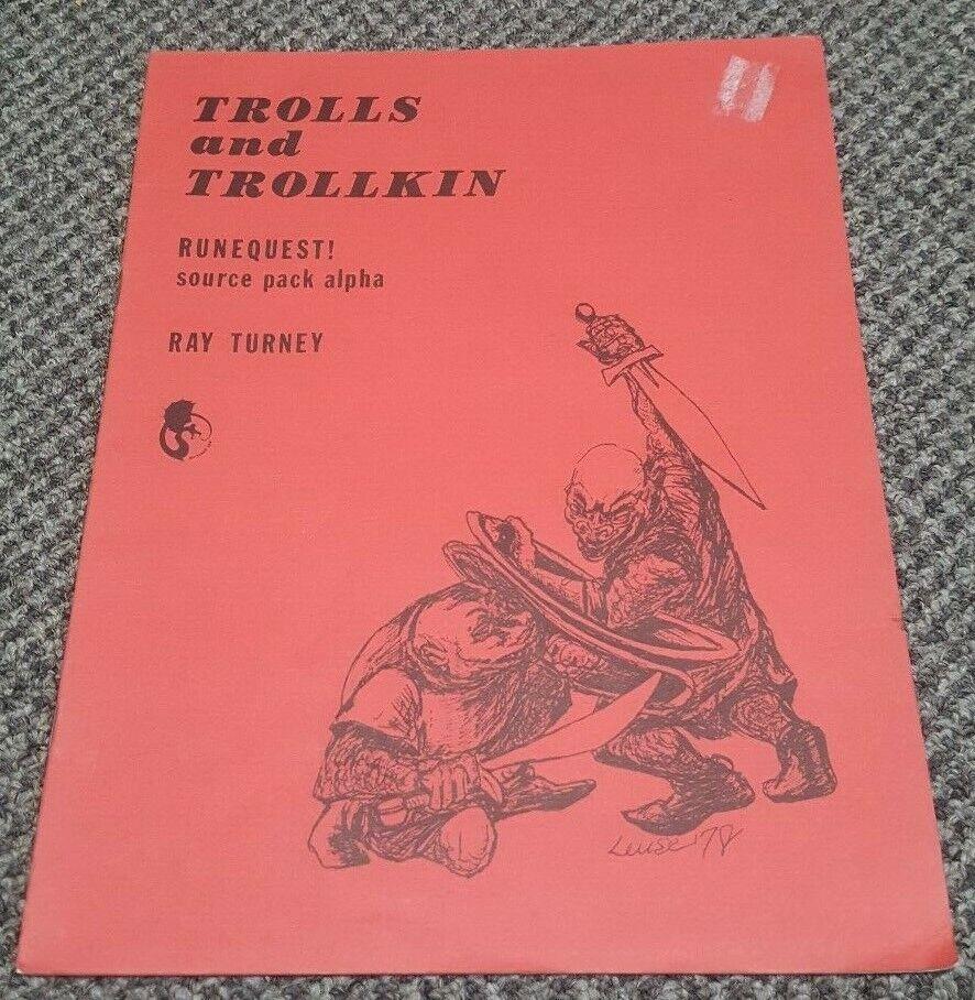 RuneQuest-trolls y Trollkin-Chaosium - 1978