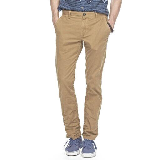 72eae518e3 Men's Urban Pipeline Slim Straight Leg Chino Stretch Jeans Khaki 30 X 32  for sale online | eBay