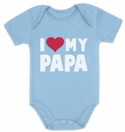 I Love Heart My Papa Infant Bodysuit Father/'s Day Gift Baby Bodysuit Toddler