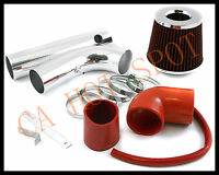97-03 S-10/sonoma/hombre 2.2l Cold Air Intake System W/ Filter - Red