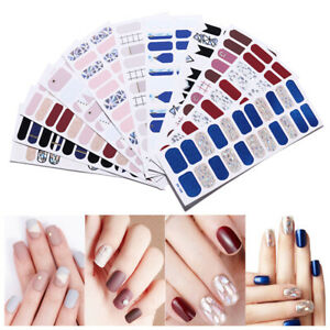Voller-Nagel-Nail-Wraps-Mixed-Patterns-Transfer-Stickers-Nagel-Kunst-Dekoration