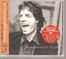 "MICK JAGGER ""The Very Best Of  Mick Jagger"" 17 Track Japan Sample PROMO CD + OBI"