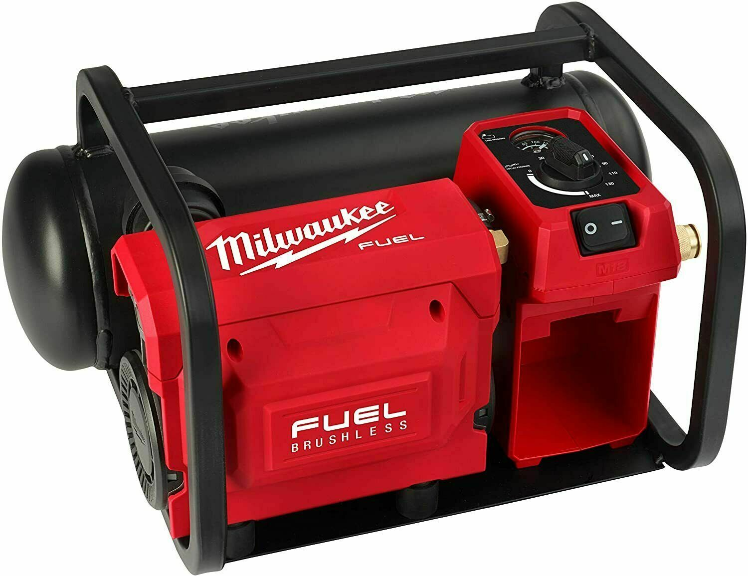 Milwaukee 2840-20 M18 FUEL 18V Brushless Cordless 2 Gal Compact Quiet Compressor. Buy it now for 329.99