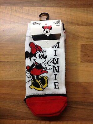Nuevo Damas Zapato De Ratón Minnie. los trazadores de líneas primark