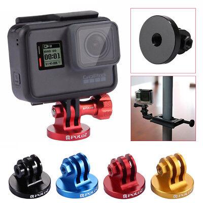 Tornillo para GoPro Hero 6 5 4 3//3 2 1 Adaptador de Montaje Trípode Videocámara CNC puluz