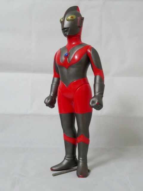 1970s - 80s Grande 12  figura Popy Ultraman Monstruo Kaiju Vintage