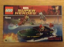 Lego Super Heroes Iron Man 3 76006 Extremis Sea Port Battle - instructions only