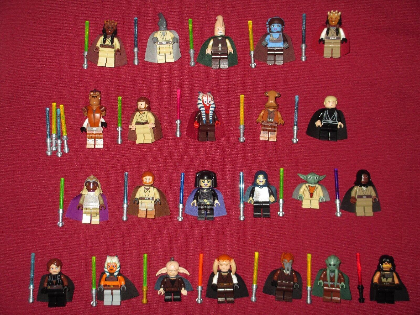 LEGO LEGO LEGO Star Wars Minifigures LOT. Aayla,Agen KOLAR,Eeth,Qui,Ithorian,Ki Adi,Yoda + 34de9e