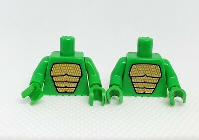 Lego Series 5 Lizard Man Minifigure Lot Of 2 Torso Only Collectible Minifig Cmf Ebay
