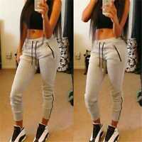 Ladies Women Harem Casual Hip-Hop Fashion Sweatpants Straight Sports Pants Gift
