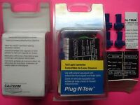 Trailer Wiring Tail Brake Turn Signal Light Plug Socket Pre Wired Converter