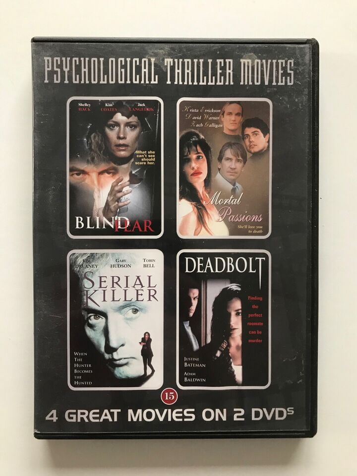 4 box film DVD, instruktør Box, DVD
