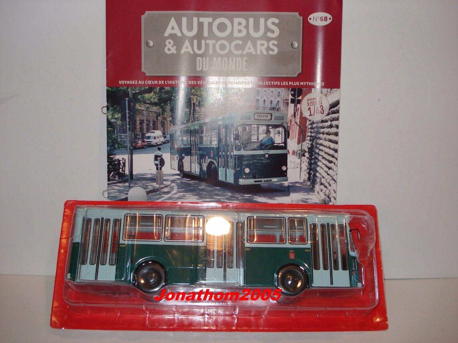 AUTOBúS & AUTOCARES DEL MUNDO FIAT 418 AC M M M MENARINI ITALIA 1975 au 1 43° c0a4e1