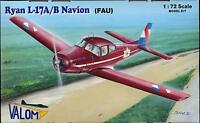 Valom Models 1/72 North American L-17a/b Navion Fau Uruguay Air Force