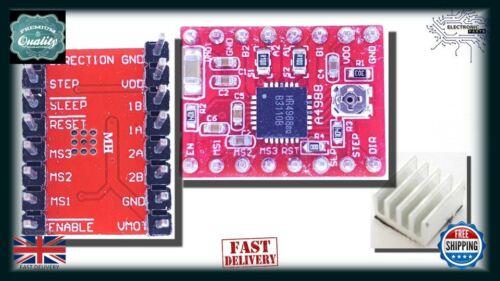 Heatsink NN007 Arduino A4988 Stepstick Stepper Motor 3D Printer Driver Module