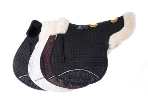 Week-end vente Rhinegold Véritable Peau De Mouton Doublé Ventilé concours cheval Tapis