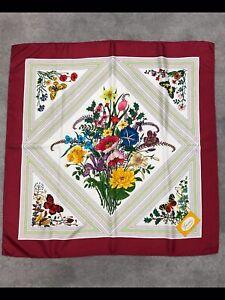 Gucci-Vintage-Floral-Silk-Scarf-by-V-Accornero-33-x33