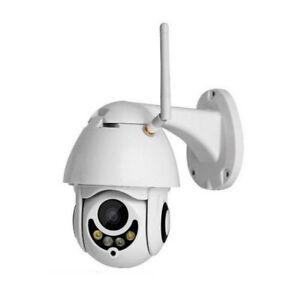Telecamera Full Color Esterna IP Camera 1080p HD motorizzata IR IT