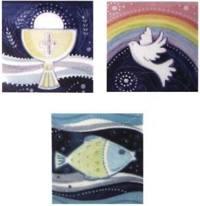 RAYHER 31530000 cera motivo cristiana motivi calice piccione pesce