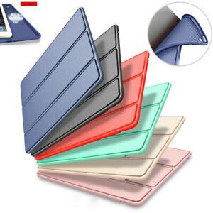 Étui Coque Housse Cuir Silicone Cover Pour iPad 9.7 Air 4 3 2 10.2 Pro 11 Mini 5