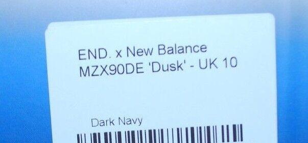 Hombre End. x New Balance MSX90ED 'Crepúsculo' - Azul Azul - marino oscuro-Tamaño 10.5 6f85b1