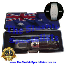 90ATC Portable Brix Refractometer Boxed FREE EXPRESS POST Aust co.3yr Warranty