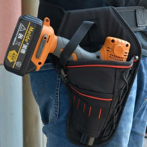 Tools Waist Belt Bag Pocket Electric Drill Holster Cordless Heavy Duty FI