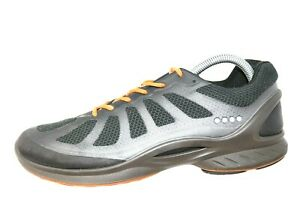 8b3309d90253 Ecco BIOM Fjuel Racer Black Orange Lace Up Athletic Shoes Womens 41 ...