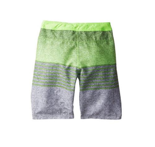 NWT Boys Youth Hurley Blaze Boardshorts Swimsuit Shorts Flash Lime 10 16 18