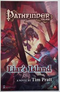 PATHFINDER-TALES-LIAR-039-S-ISLAND-GHOSTWALKERS-2015-SDCC-2-Sided-Poster-11-x-17