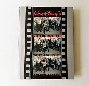 Walt-Disney-Nine-Old-Men-The-Art-of-Animation-Book-First-Edition-Canemaker