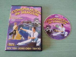 CONSPIRACION-DE-SHAOLIN-MAESTROS-DEL-KUNG-FU-DVD-ROC-TIEN-TIN-HO-DORIS-CHEN