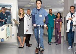 scrubs tv show cast poster ebay
