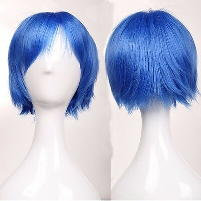 Fashion Anime Cosplay Short Wig 5a Synthetic Hair Wigs Lady Costume Fancy Dress
