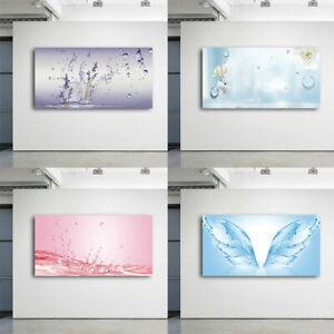 Fiore-di-acqua-pura-Astratta-Stampa-Artistica-Pittura-ad-olio-su-tela-foto-Home-Decor