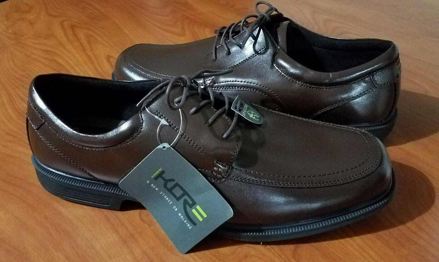 supporto al dettaglio all'ingrosso NEW NUNN BUSH KORE COMFORT GEL GEL GEL Marrone DRESS WALKING scarpe SLIP RESISTANT SZ 14XW  seleziona tra le nuove marche come