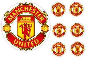 Manchester United Cake Topper Printable
