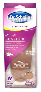 0ab31a4ecd Dr Scholl's Ultra Soft Leather Insoles for Flats 1 Pair Womens Size ...