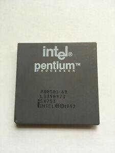 Intel Pentium 60 MHz CPU -  with FDIV bug - SX753 - Very rare!