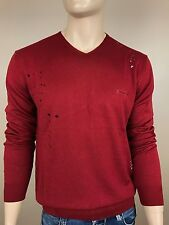 DSQUARED2 Men's Jumper, Sweater, V Neck, CLEARANCE, Fast Shipping, Size:2XL