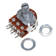 Stereo Potentiometer Audio Taper Splined Dual Log Volume Control