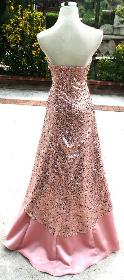 NWT JUMP APPAREL  Blaush Formal Prom Party Gown 9