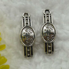 Free ship 220 pieces tibet silver dolphin charms 24x23x4mm B4424