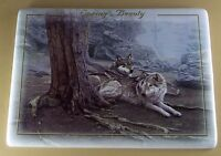 Seasons of Magnificence SPRING'S BEAUTY Plate Wolf Wolves Daniel Smith MIB + COA