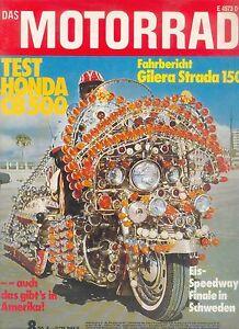 Auto & Motorrad: Teile 100% QualitäT Motorrad 8/74 1974 Motobécane 350 Honda Cb 500 Four Horex Regina Zeitschrift Zeitschriften
