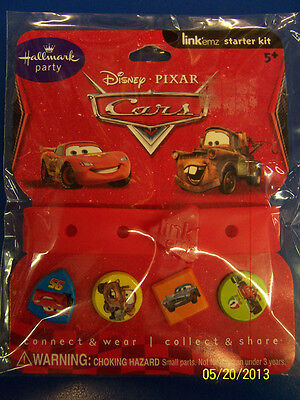 RARE Disney/'s World of Cars Pixar Movie Kids Birthday Party Favor Link Bracelet