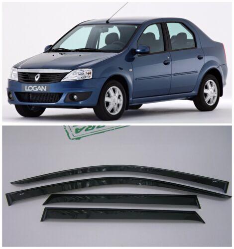 For Renault Logan Sd 2005-2014 Side Window Visors Sun Rain Guard Vent Deflectors
