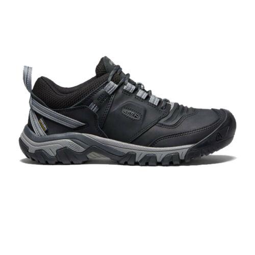 Keen Homme Ridge Flex Imperméable Chaussures De Marche Noir Sports Extérieur Respirant